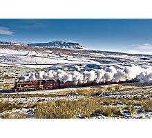 Steam and Snow - Horton-in-Ribblesdale Photographic Print