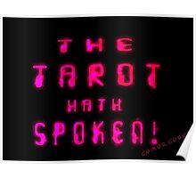 Gamer Geek Tarot Poster