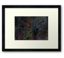 Midnight Garden cycle22 4 Framed Print