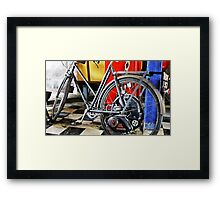 """ The Petrol saver"""" Framed Print"
