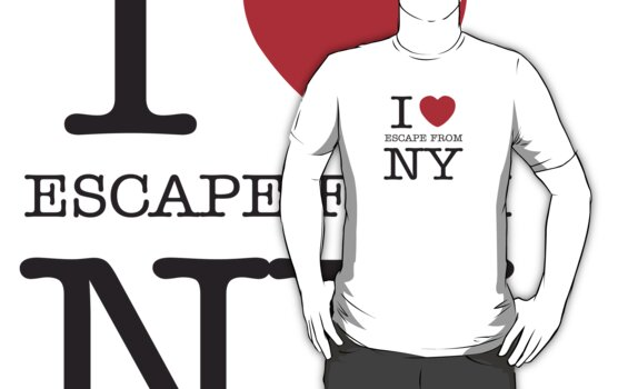 I HEART SNAKE! (Escape from New York Shirt) by IG-HateyHate