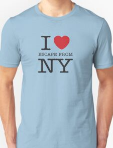 I HEART SNAKE! (Escape from New York Shirt) T-Shirt