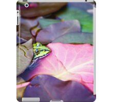 Edible Frog iPad Case/Skin