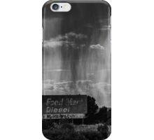 Let the rain washes away everything iPhone Case/Skin