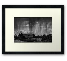 Let the rain washes away everything Framed Print