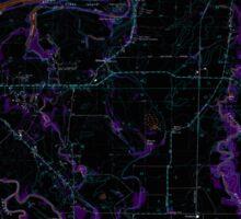 USGS Topo Map Oregon Riverside 281280 1969 24000 Inverted Sticker