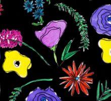 Dark Flowers Sticker