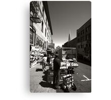 Streets of San Francisco Canvas Print