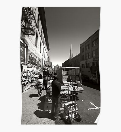 Streets of San Francisco Poster