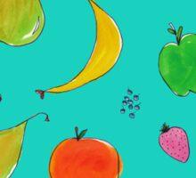 Blue Fruits Sticker