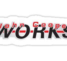 John Cooper Works Sticker