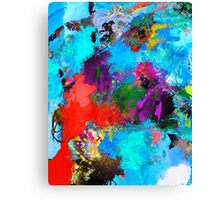Optical Earthquake Canvas Print