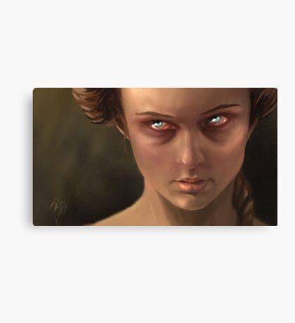 Temper Canvas Print