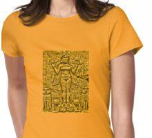 Egyptian Goddess Womens Fitted T-Shirt