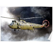 Royal Navy Westland Sea King HC Mk.4   Poster