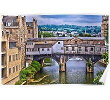 Bath, Pulteney Bridge Poster
