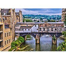 Bath, Pulteney Bridge Photographic Print