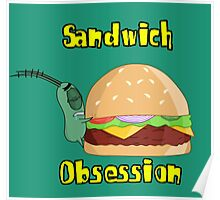 Sandwich Obsession Poster