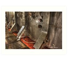Engine Room - 1 Art Print
