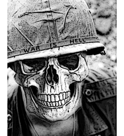 WAR IS HELL Sticker