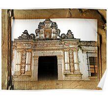 Church Facade - Guatemala Poster