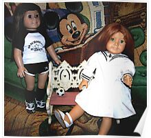 Partners In Crime, My American Girl Dolls Poster