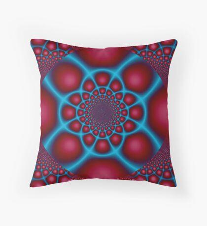 Hypnotic Eye Throw Pillow
