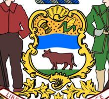 Delaware State Seal Sticker Sticker
