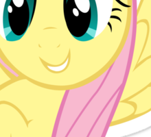 Fluttershy at attnetion Sticker