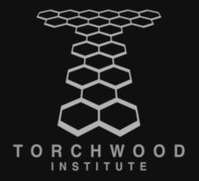 Torchwood Light Gray Logo and Name by Christopher Bunye