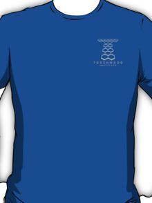 Torchwood Light Gray Logo and Name T-Shirt