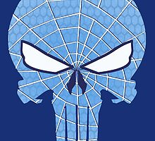 SpiderPunisher in Blue by chriswig