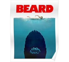 Beard Jaws. Poster