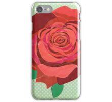 Rosa floribunda iPhone Case/Skin