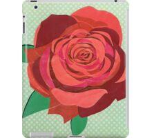 Rosa floribunda iPad Case/Skin