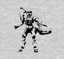Crab Spartan - BiLevel Clear Unisex T-Shirt