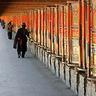 Pilgrims and prayer-wheels by jmccabephoto