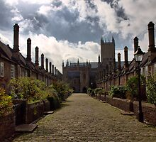 The Vicars Close by Clive