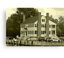 Historic Barker House Canvas Print