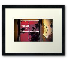 Lake House View Framed Print
