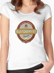 Bustoberfest 2011 Women's Fitted Scoop T-Shirt