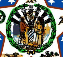 Oklahoma State Seal Sticker Sticker