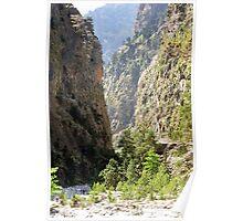 National Park of Samaria. Poster