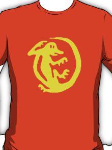 Orange Iguana T-Shirt