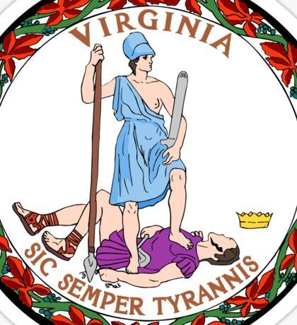 Virginia State Seal Sticker Sticker