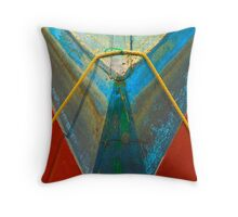 Dingy, New England Throw Pillow