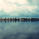 Rain over paradise by heinrich