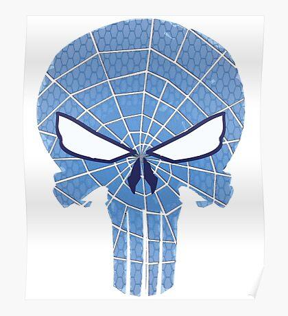 SpiderPunisher in Blue 2 Poster