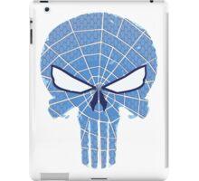SpiderPunisher in Blue 2 iPad Case/Skin