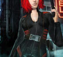 The Cyberpunk Assassin Sticker